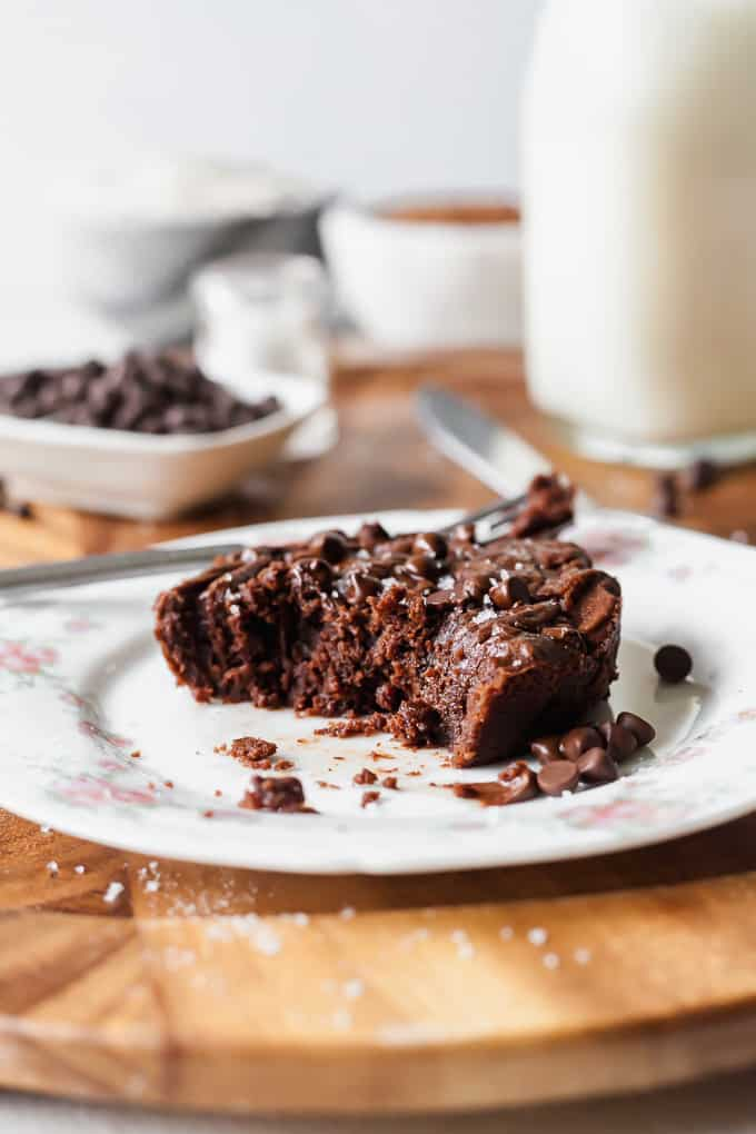 Single Serving Vegan Brownie